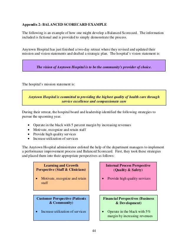 Outline Of Workforce Development Strategic Plan Massgov Balance Score Card Pdf