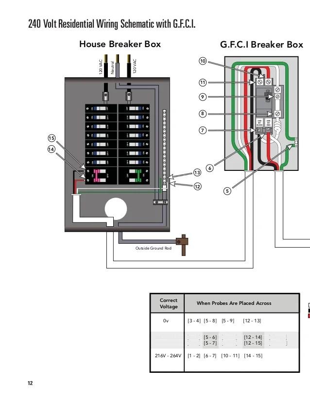pump for 240 volt wiring diagram