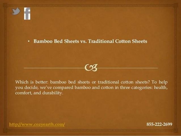 Bamboo bed sheets vs. traditional cotton sheets
