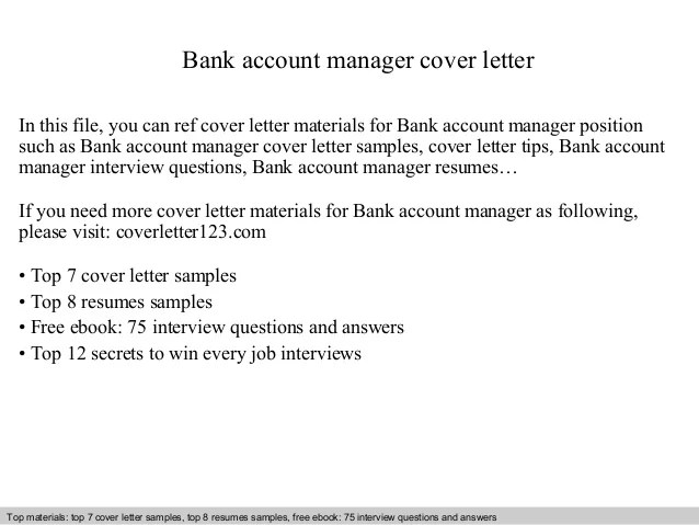 contract manager cover letter
