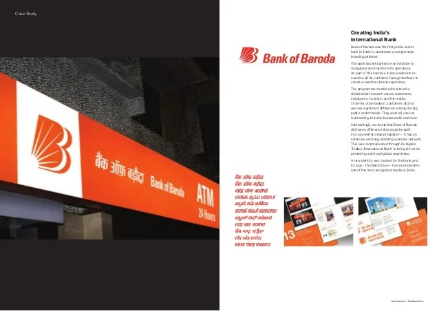 Service Charges Fees Bank Of Baroda Indias Raykeshavan The Brand Union – Financial Services