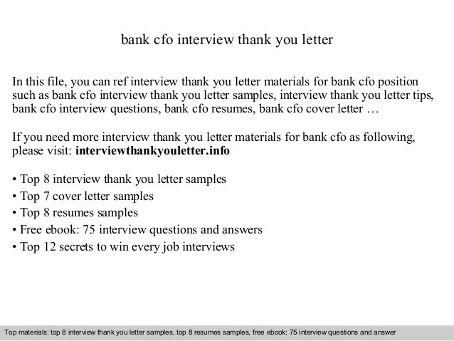 sample interview thank you notes