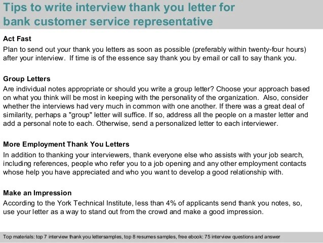 bank customer service representative resumes