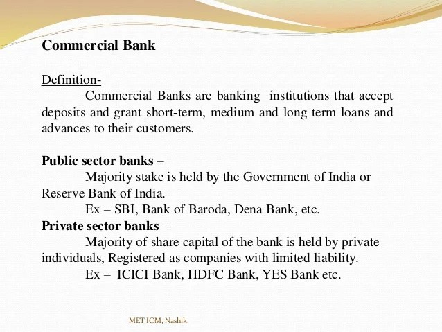 Distinguish between Public Sector Banks & Private Sector ...