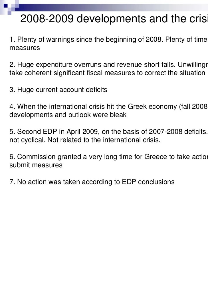 Entry6 The Root Causes Of The Greek Sovereign Debt Crisis