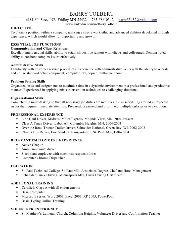 excel skills resume examples