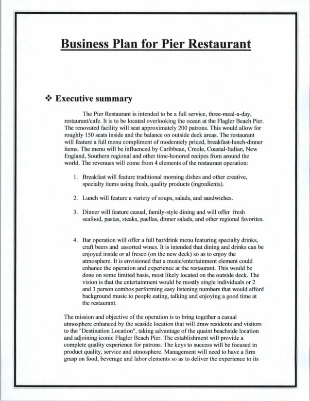 executive business plans - Josemulinohouse - executive summary template microsoft word