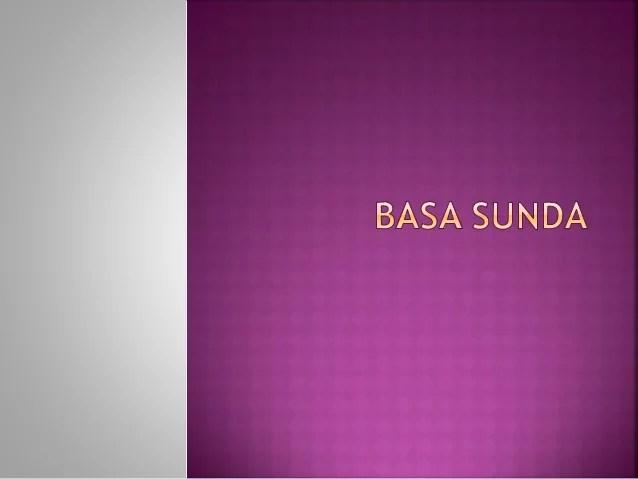 Paguneman Berempat Bahasa Sunda  Upcoming Slideshare
