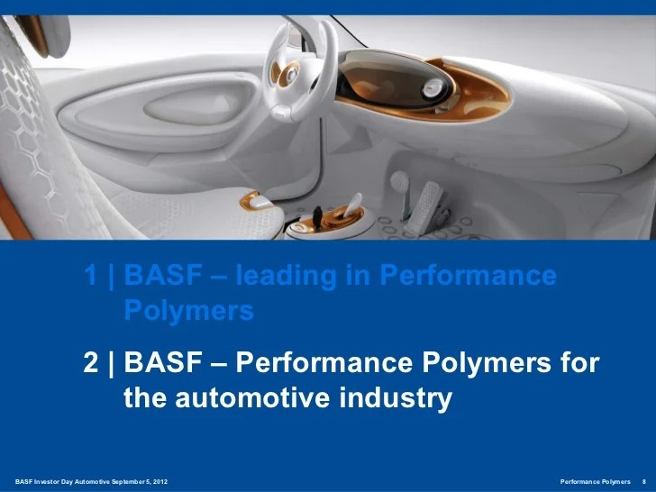 Basf Performance Polymers Delivering Sustainable Value