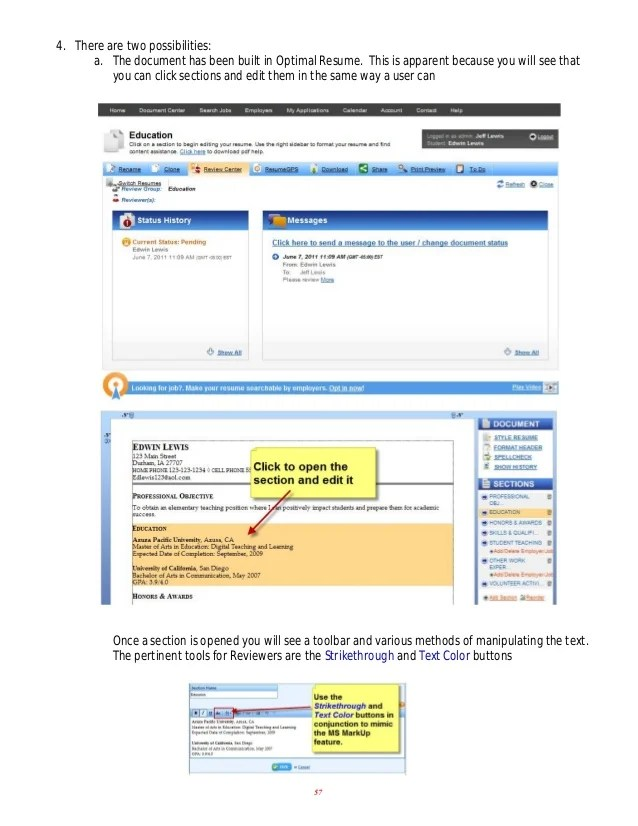 rasmussen optimal resume optimal resume ross education resume pdf