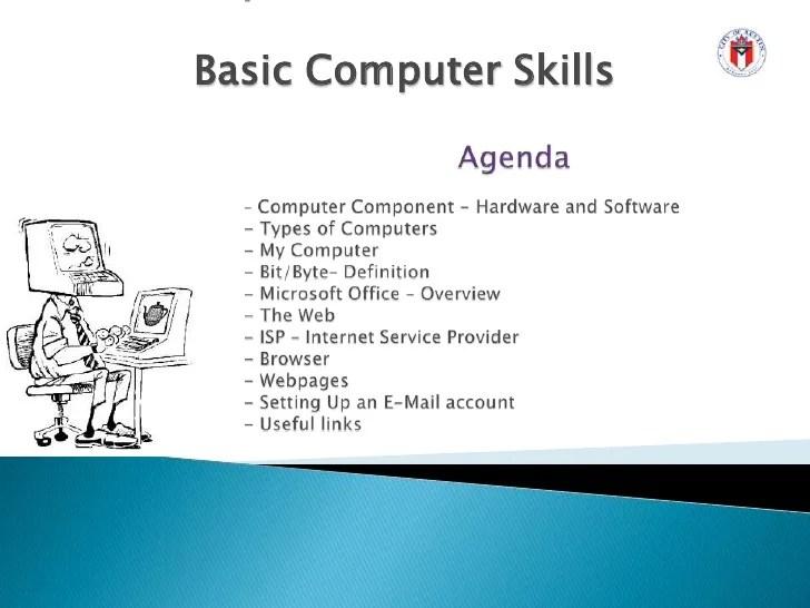 types of computer skills - Onwebioinnovate - computer software skills