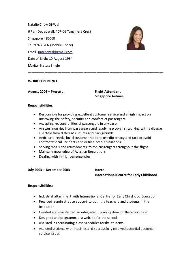resume with photo yes or no