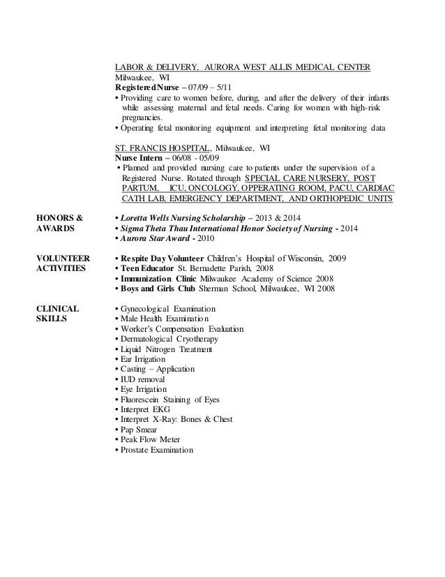 telemetry rn resume - Goalgoodwinmetals