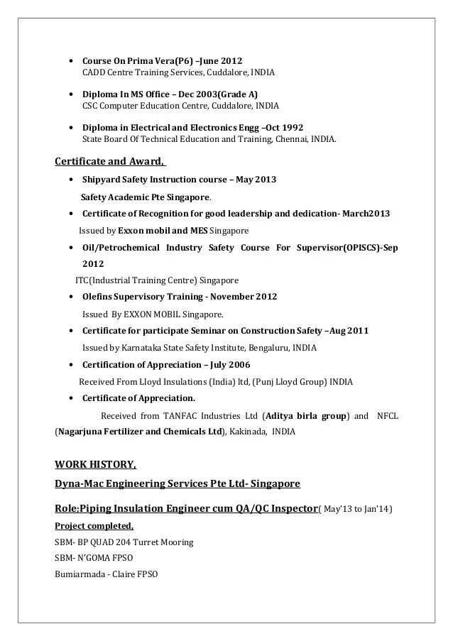 Academic Cv Template Careers Advice Jobsacuk Kvijayakumar Cv For Field Engineer Painting Insulation