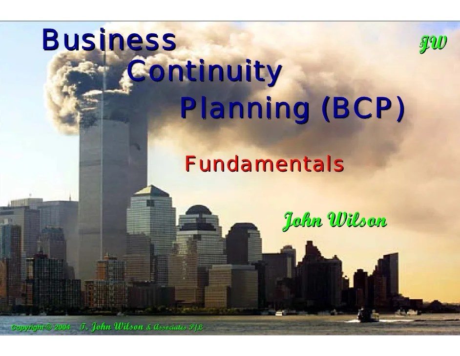 Business Continuity Plan Template Bank Professional Resume Cv Maker
