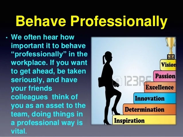 how to be a professional - Minimfagency - how to be a professional