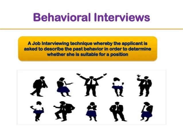 behavioral interviews - Canasbergdorfbib