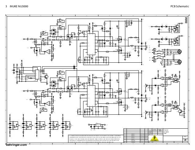 behringer amp schematic