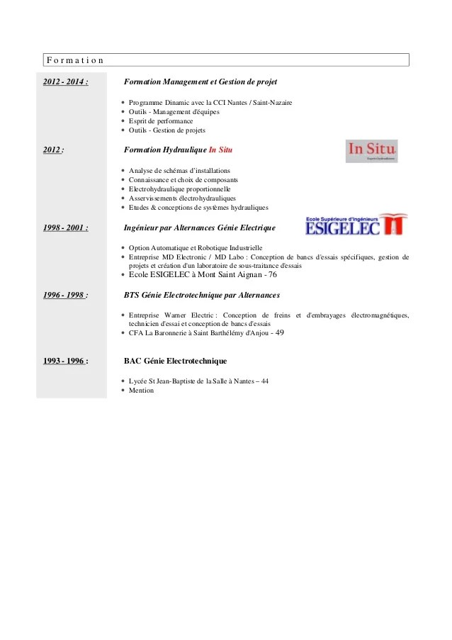 competences boucher cv