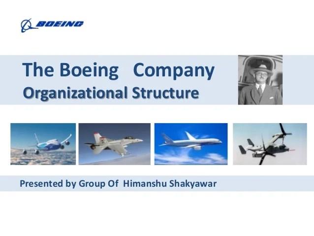 boeing organizational structure