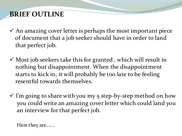 Cover Letter Resumes - Alannoscrapleftbehind