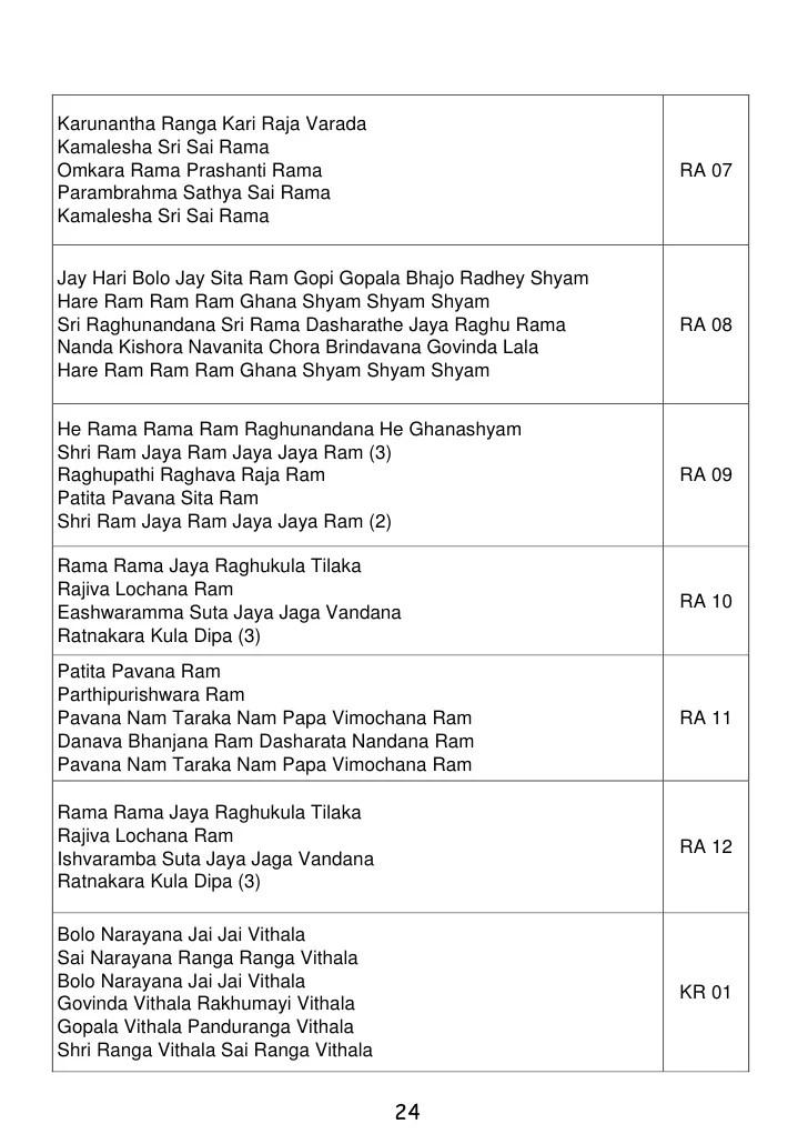 bhajan-book-07-2011-24-728 Sai Bhajan Rama Rama Jaya Raja Ram
