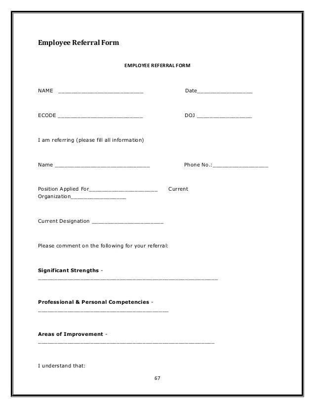 job referral form - Funfpandroid