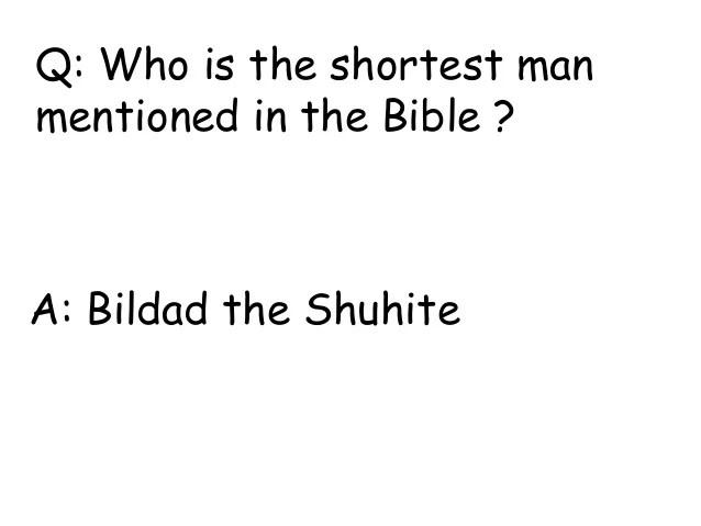 bible riddles - Goalgoodwinmetals