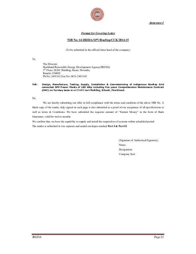 sample bid proposal letter - Minimfagency