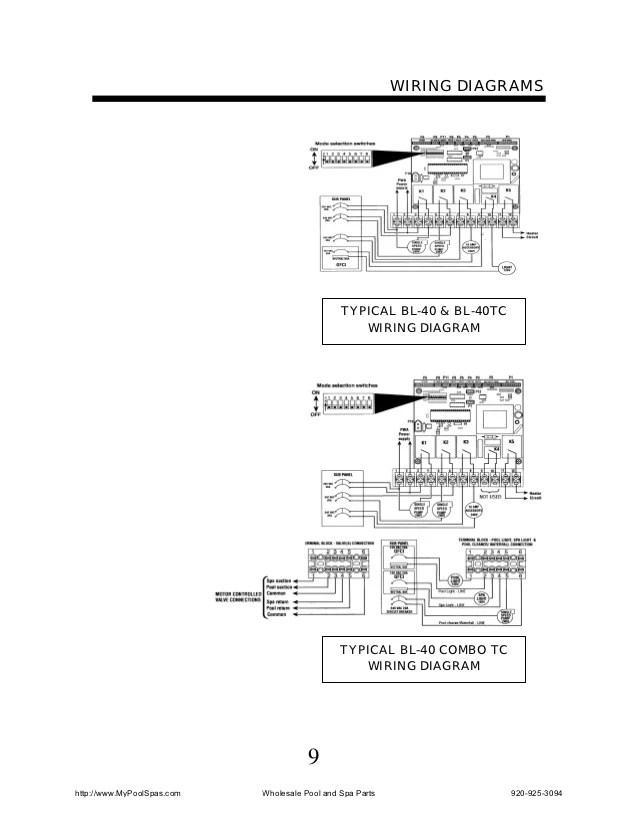viking spas hot tub wiring diagrams