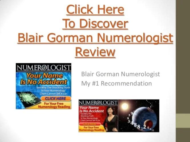 Blair Gorman Numerologist Review