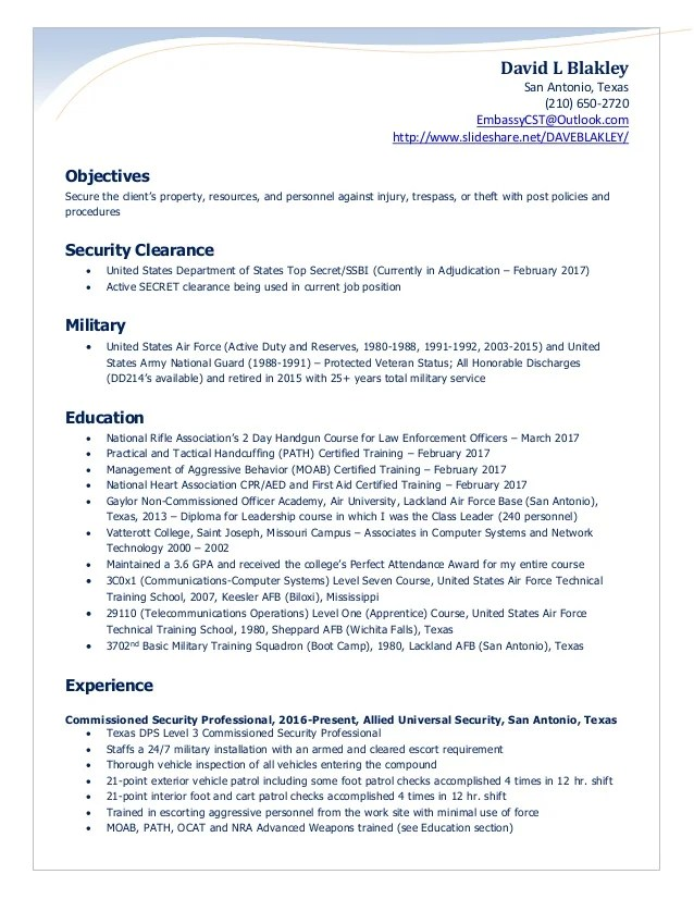 security guard resume - Minimfagency - Gatehouse Security Guard Sample Resume