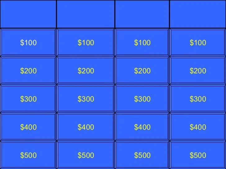 jeopardy template rules