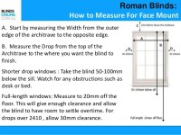 How to Measure Blinds