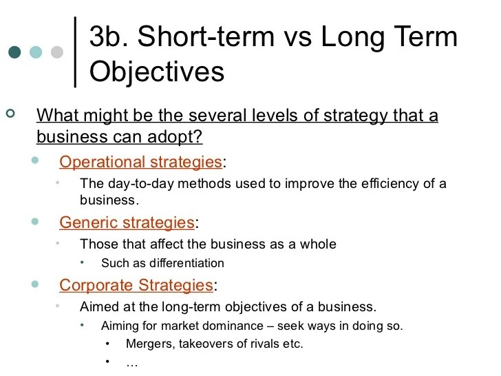 long term and short term career goals examples - Akbagreenw