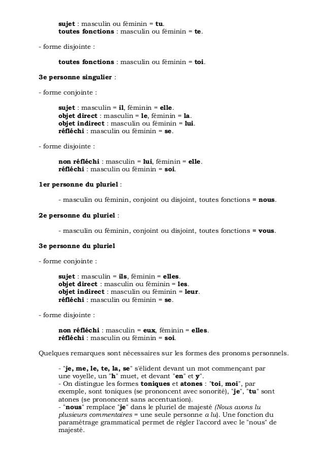 langue pluriel ou singulier cv
