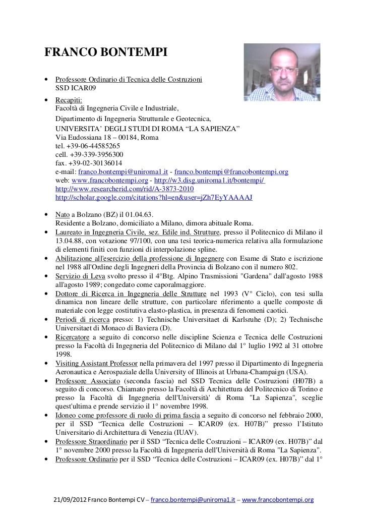 cv email format