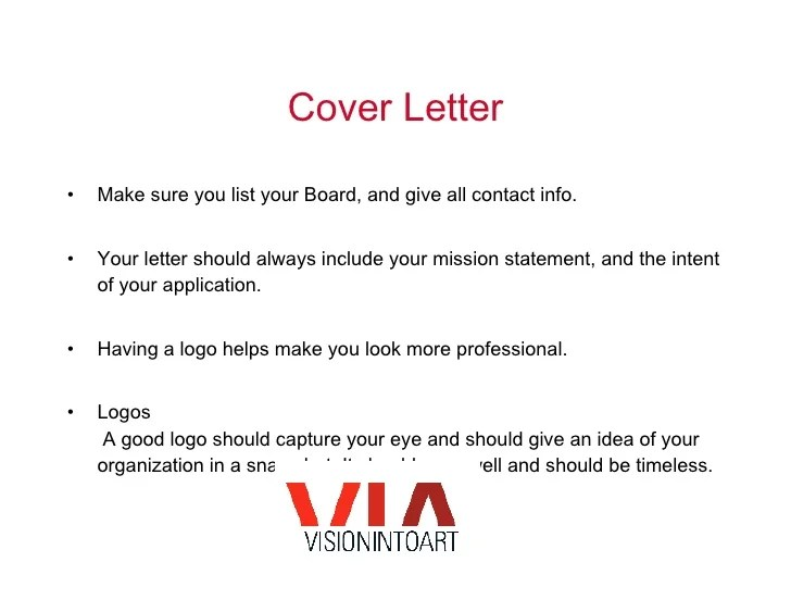 sample of cover letters for art grants - Deanroutechoice