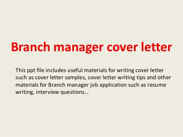 Writing A Cover Letter With No Experience Youth Central Branch Manager Cover Letter
