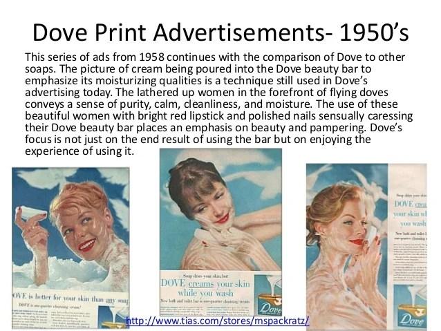 Dove Brand Evolution
