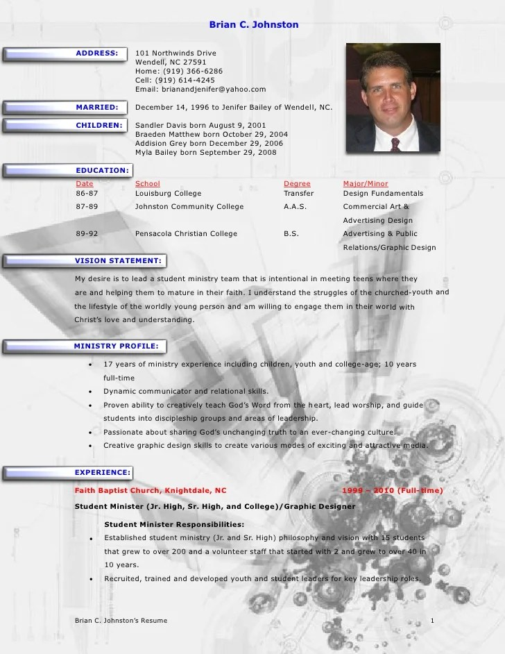 Youth Ministry Job Description Template | Resume Template Example