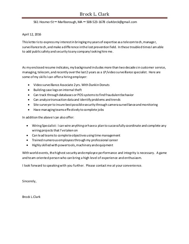 Telecom Manager Cover Letter - Resume Examples | Resume Template