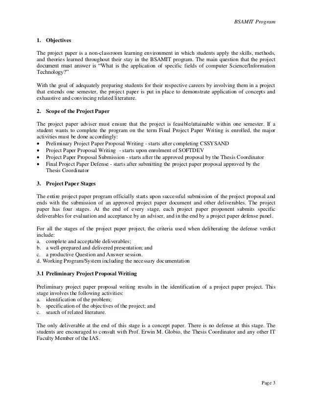 project proposal format - Yelomdigitalsite - project proposal template sample