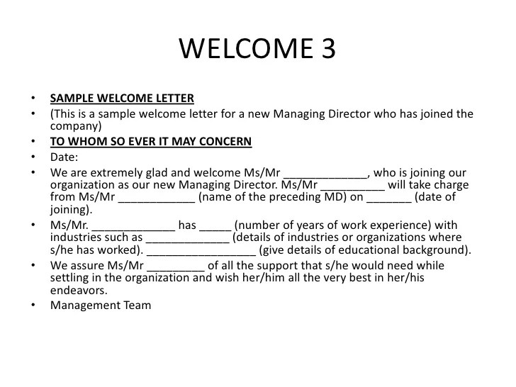 welcome to company letters - Ozilalmanoof
