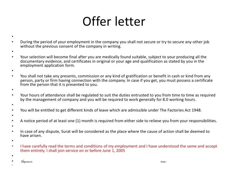 reliance offer letter - Acurlunamedia - offer letters