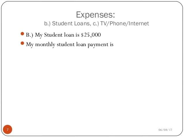student loan budget spreadsheet - Roho4senses
