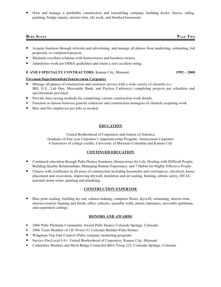 resume for construction framer professional resumes example online