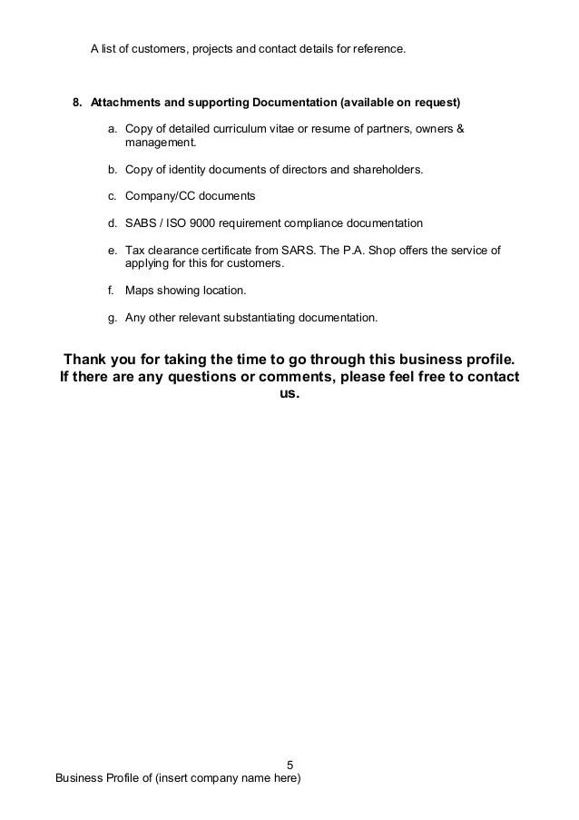 sample company profile template doc - Onwebioinnovate - company profile samples