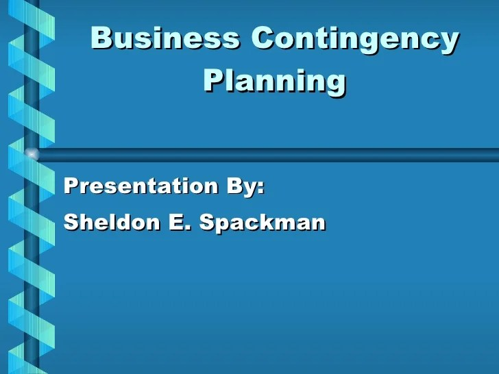 Business Continuity Plan Download 48 Pg Ms Word 12 Business Contingency Planning