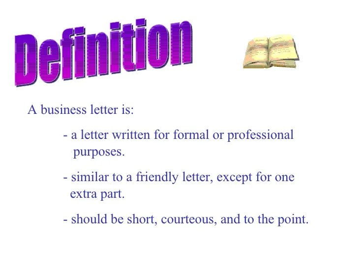 Business Letter Format What To Include And When Business Letter